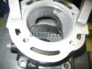 Réalésage cylindre Yamaha 350