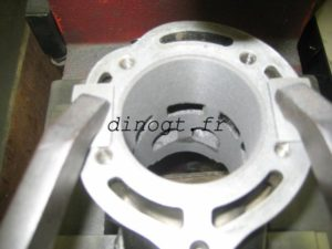 Réalésage cylindre Yamaha 350 RDLC - Banshee - 4