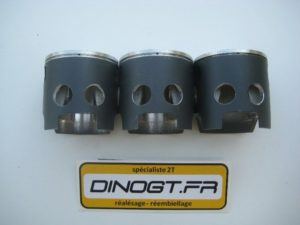 3 kits pistons Wossner adaptés pour Honda 400 NSR