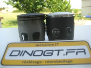 Kit piston Honda 400 NSR comparaison