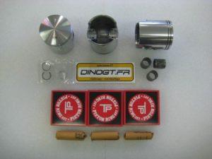 3 kits pistons coulés pour Kawasaki 500 H1