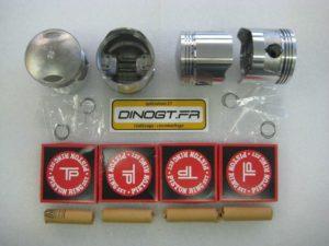 4 kits pistons coulés pour Kawasaki 900 Z