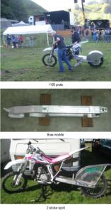 motos pour la montée impossible d'Arette
